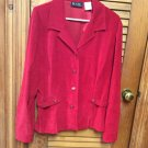 M.H.M.melissa harper Button Front L/S Blazer Jacket size 16