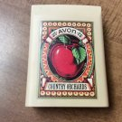 Vintage Avon Gift Collection Country Orchards Food Scale Apple