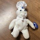 "1997 Collectible Pillsbury Doughboy Beanbag Figure Toy Doll 9"" Tall -NWT"
