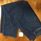 Women's Kim Rogers Essentials Zipper Elastic Inserts 100% Cotton Jeans 14P