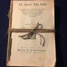Antique Vintage Bible Crafts Book Pages Decoupage Scrapbook Holiday DIY Crafts
