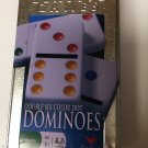 Double Six Color Dot Dominoes In Collectible Tin-Cardinal Games 2007
