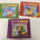 3 CD Box SET Twin Sisters Productions: 102 Traveling Songs for KIDS