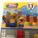 Tonka Mighty Builders 12 Piece Construction Figure Playset NEW Ages 2-5