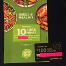 Hello Fresh 10 Free Meals Coupon and  $100.00 Wine Coupon