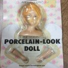 """Vintage Porcelain-look 3""""  Doll Parts 3pc; 1 Head, 2 Arms 'Just For Keeps"""" Angel"""