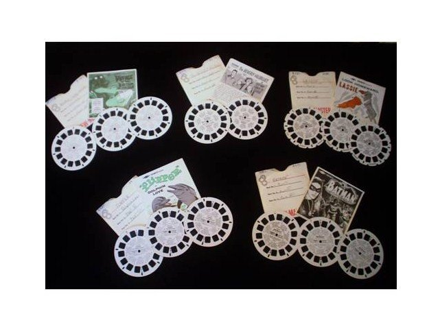 SOLD - Viewmaster Reel 1960's TV Series - 5 Sets, B483, B492,B485,B480,B570