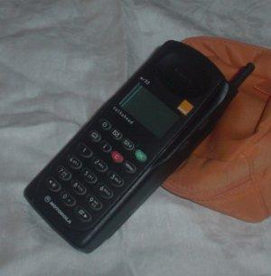 UK Vintage Orange MR30 Mobile Phone