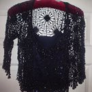 Vintage Karen Millen- Irish Beaded Camisole w/ Jacket Top