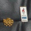 Vintage Olympic Pins 1996 Atlanta Games - Kodak & Bausch & Lomb