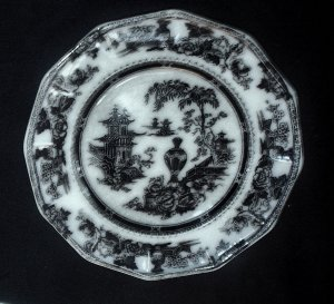 Sold Antique Plate Mulberry W Adams Sons Jeddo