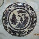 Antique Jeddo,W. Adams & Sons ,  Mulberry   Dinner Plate