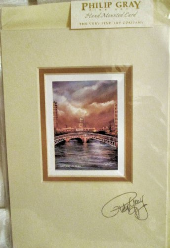 Framed Print - Irish Dublin, Skyline & Bridge by Philip Gra