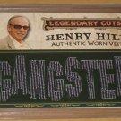 HENRY HILL Worn Vest Trading Card GOODFELLAS 1 of 5