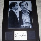 HENRY HILL Autographed 11x14 Matted Display GOODFELLAS