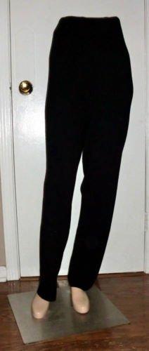 NEW NWT Colette Mordo Sadimara Black Knit Pants M 8 10