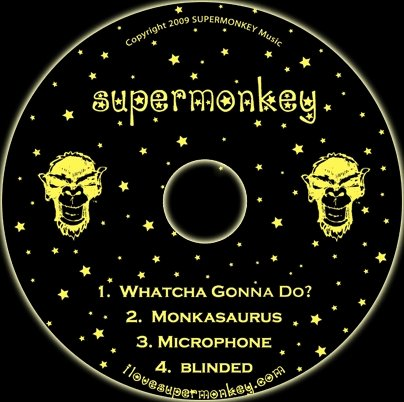 Black & Gold SuperMonkey EP