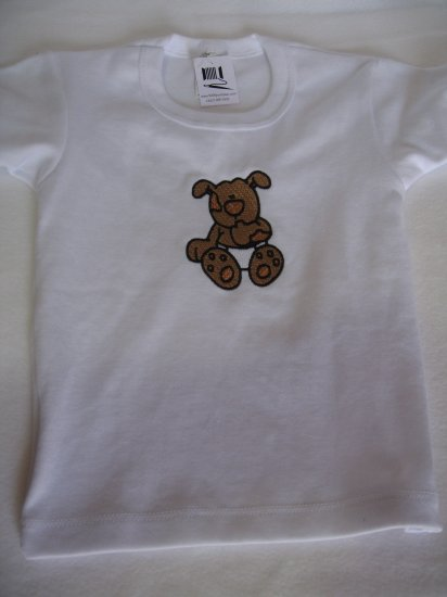 Embroidered toddler t-shirt