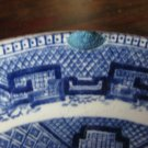 Blue Willow plate (chipped)