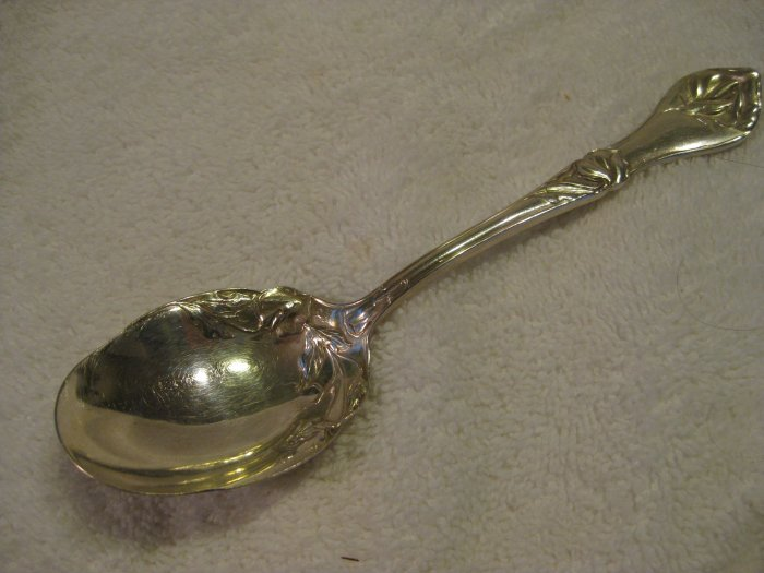 Paragon Triple Silver Plate Sugar Spoon