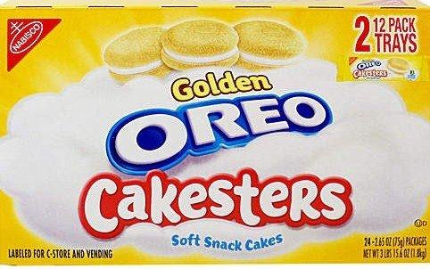 Nabisco Golden Oreo Cakesters 24 ct