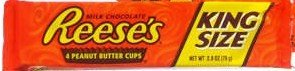 Reese's Peanut Butter Cups 24 packs with 4 in each pack