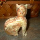 Marble Cat Statue/Figurine-New
