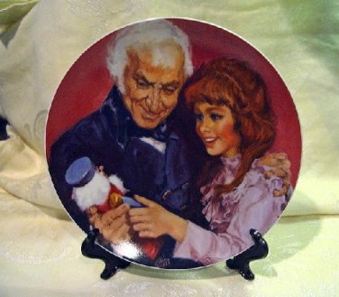 Nutcracker Ballet Plate-A Gift From Godfather,1979