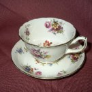 Vintage Hammersley Cup & Saucer- Floral