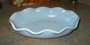 Vintage Abingdon Blue Console Bowl #564