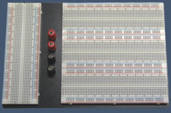20-000-019 Proto-Board/Solderless Breadboard 3320 Tie Points w/4-Binding Posts
