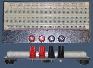 20-000-025 Proto-Board/Solderless Breadboard 830 Tie Points w/4-Binding Posts