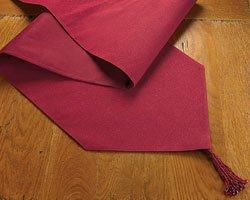 Cranberry Glitter Table Runner