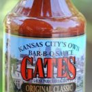 Gates BBQ Sauce ORIGINAL Kansas City Barbecue Sauce Gates Bar-B-Que