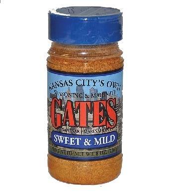 Gates BBQ Sauce All Purpose Bar-B-Que Seasoning & Marinade Sweet & Mild Barbecue