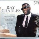 Ray Charles-3 CD Set-54 Tracks -CC Rider, Hey Now, The Midnight Hour TTPCD-040 RB1