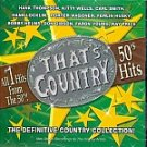 That's Country-50's Hits-All #1 Hits-Feat Kitty Wells, Porter Waggoner KRB-5500 C72