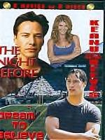 Keanu Reeves Double Feature-2 DVD-The Night Before/Dream To Believe KM-1029 MSR36