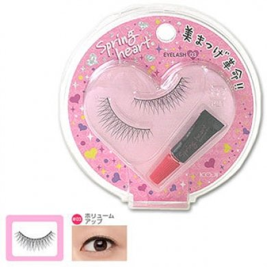 KOJI SPRING HEART False Eyelashes #3