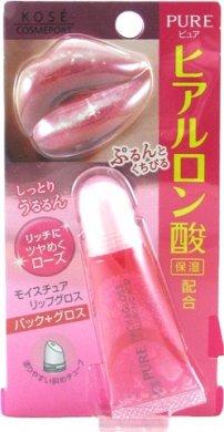 KOSE Pure Moiture Pack & Gloss (Rose)