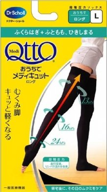 DR.SCHOLL QTTO Daywear Stockings L