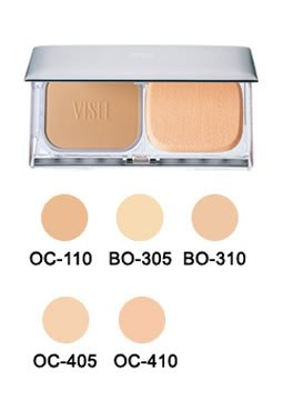 Kose Visee Powder Foundation Nudy Fit Pact