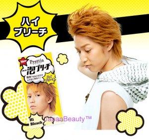 Kao Prettia Soft Bubble Hair Color for Men (Hi Bleach)