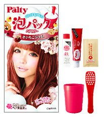 Palty Foam Pack Hair Color - Mountain Strawberry Jam