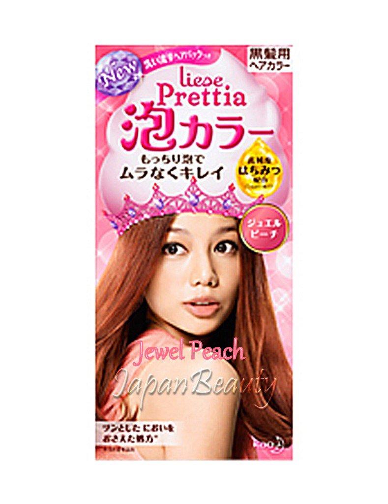 Kao Prettia Soft Bubble Hair Color Jewel Peach