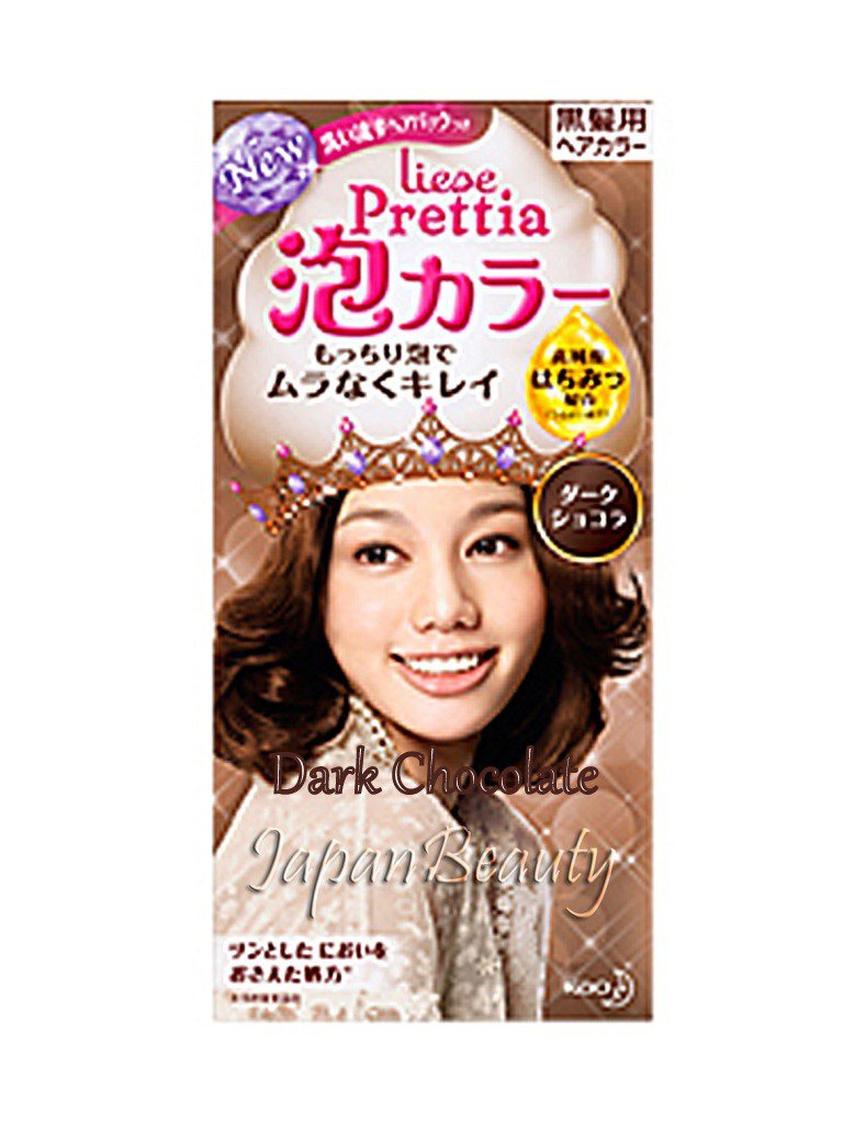 Kao Prettia Soft Bubble Hair Color Dark chocolate