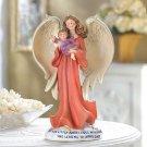 ANGEL W/BABY FIGURINE