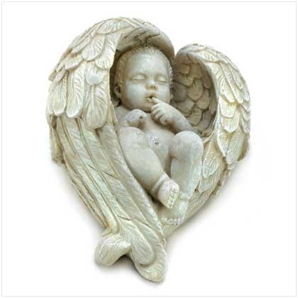 LITTLEST RESTING ANGEL FIGURINE