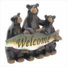 CATCH OF THE DAY WELCOME SIGN BEARS