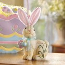 HOMESPUN BUNNY FIGURINE